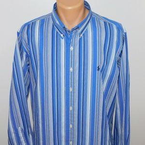 Ralph Lauren long sleeve button down shirt. XXL